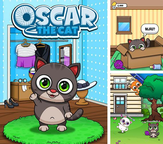 Oscar the virtual cat