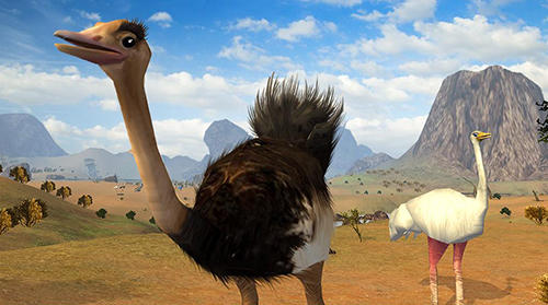 Screenshots do Ostrich bird simulator 3D - Perigoso para tablet e celular Android.