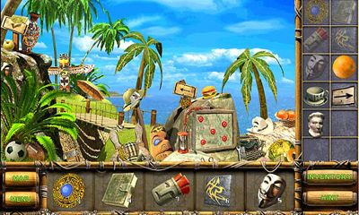 Capturas de pantalla de The Treasures of Mystery Island para tabletas y teléfonos Android.