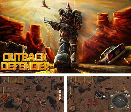 In addition to the game Towns of the dead for Android phones and tablets, you can also download Outback defender for free.