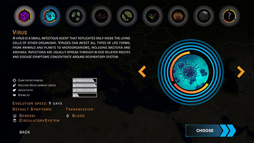Screenshots von Outbreak: Infect the world für Android-Tablet, Smartphone.