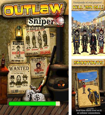In addition to the game Scramblies for Android phones and tablets, you can also download Outlaw Sniper for free.