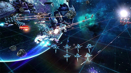 Screenshots von Over space: Galactic phantasy 2 für Android-Tablet, Smartphone.