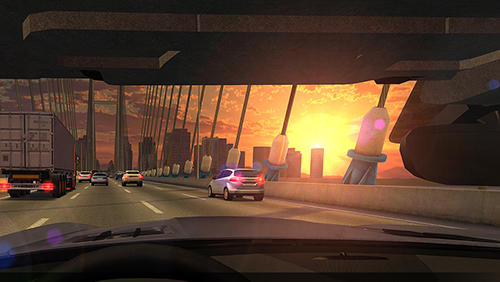 Overtake: Traffic racing screenshot 1