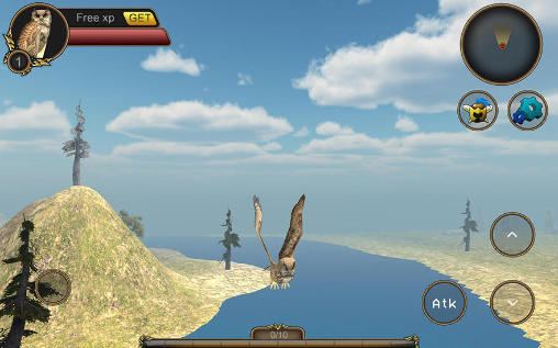 Screenshots von Owl bird simulator für Android-Tablet, Smartphone.
