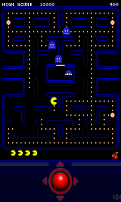 Screenshots von PAC-MAN by Namco für Android-Tablet, Smartphone.