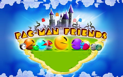 Pac-Man friends poster