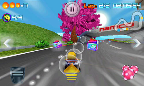 Гра Pac-Man: Kart rally на Android - повна версія.