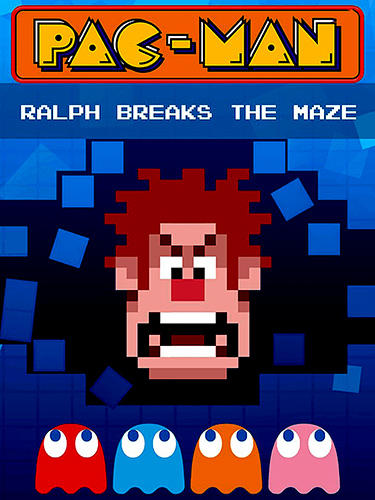 Pac-Man: Ralph breaks the maze poster