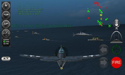 Pacific navy fighter: Commander edition screenshot 1
