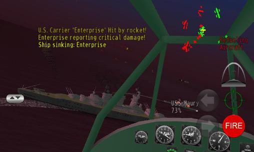 Pacific navy fighter: Commander edition screenshot 2