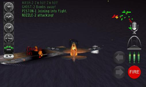 Pacific navy fighter: Commander edition screenshot 3
