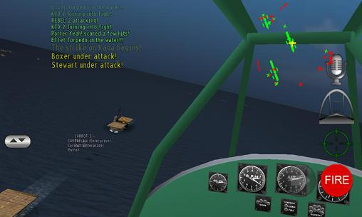 Pacific navy fighter: Commander edition screenshot 4