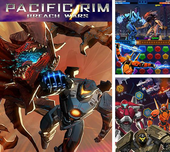 Pacific rim breach wars: Robot puzzle action RPG