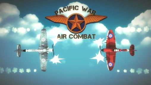Pacific war: Air combat poster