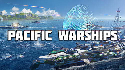 Pacific warships: Epic battle poster