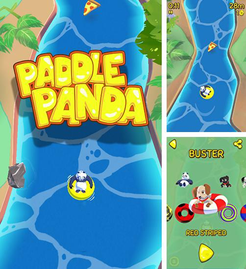 In addition to the game Frog candys: Yum-yum for Android phones and tablets, you can also download Paddle panda for free.