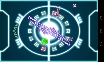 Screenshots of the Paddletronic Duel for Android tablet, phone.