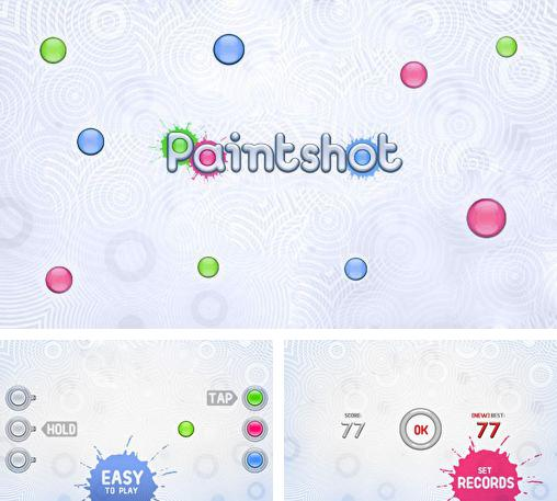 In addition to the game Cubicle Golf for Android phones and tablets, you can also download Paintshot bubbles for free.