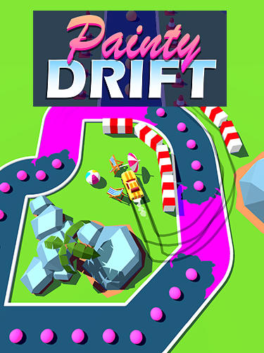 Painty drift poster