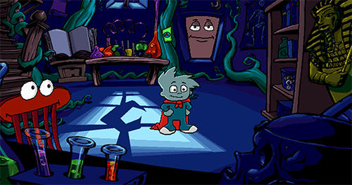 Pajama Sam in No need to hide when it's dark outside for ...