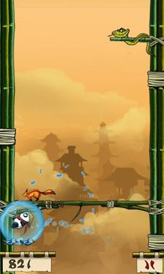 Screenshots of the Panda Jump for Android tablet, phone.