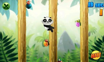 Screenshots do Panda vs Bugs - Perigoso para tablet e celular Android.