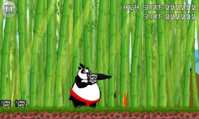 Screenshots of the Pandas vs Ninjas for Android tablet, phone.