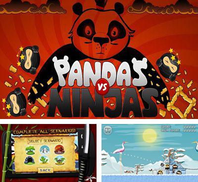 In addition to the game Run Like Hell! for Android phones and tablets, you can also download Pandas vs Ninjas for free.