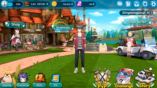 Pangya mobile screenshot 1