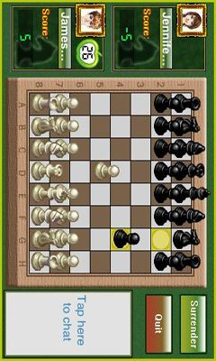 Screenshots do Papaya Chess - Perigoso para tablet e celular Android.