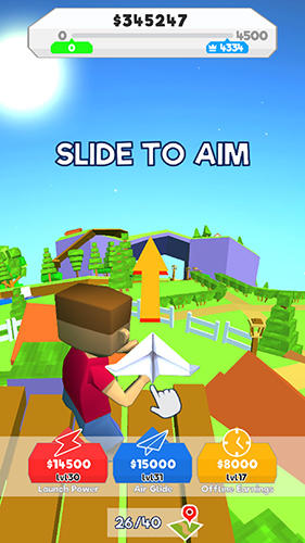Paper plane planet screenshot 1