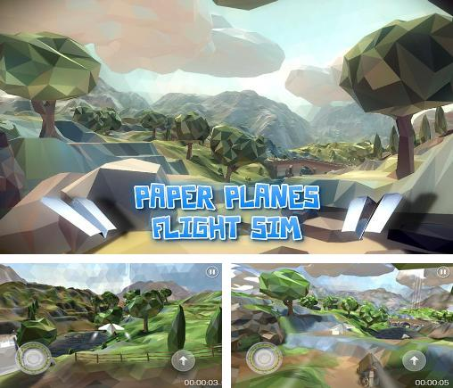 In addition to the game My Paper Plane 3 for Android phones and tablets, you can also download Paper planes: Flight sim for free.