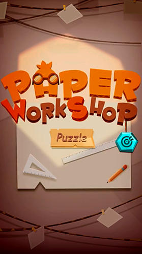 Paper puzzle workshop