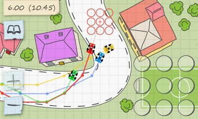 Screenshots von Paper Racing für Android-Tablet, Smartphone.