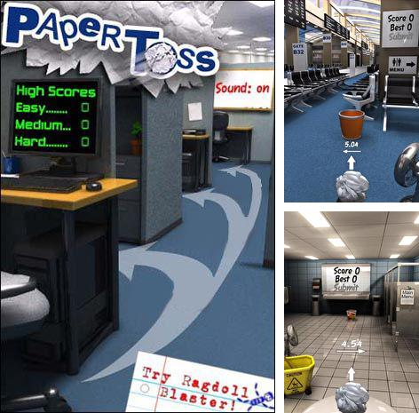 In addition to the game Can Knockdown 3 for Android phones and tablets, you can also download Paper toss for free.