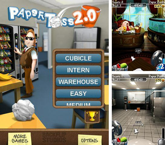 Paper toss for android apk download.