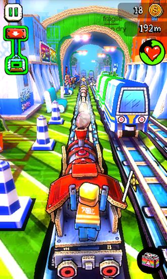 Screenshots von Paper train: Rush für Android-Tablet, Smartphone.