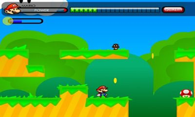 Screenshots von Paper World Mario für Android-Tablet, Smartphone.