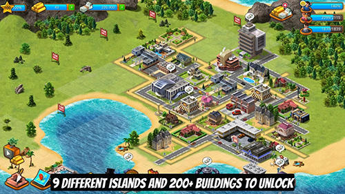 Screenshots von Paradise city island sim für Android-Tablet, Smartphone.