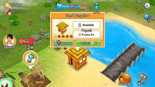 Paradise resort: Free island screenshot 3