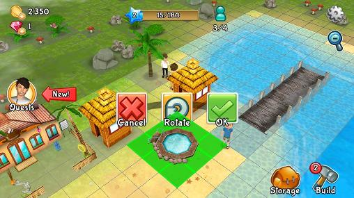 Paradise resort: Free island screenshot 5