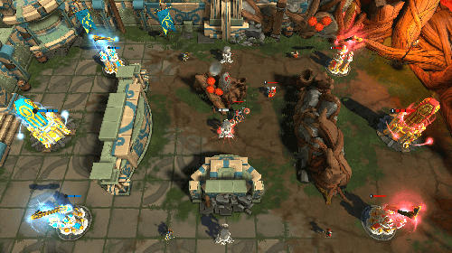 Screenshots von Paragon kingdom: Arena für Android-Tablet, Smartphone.
