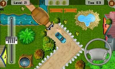 Screenshots of the Parkgasm for Android tablet, phone.