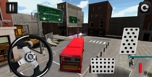 Screenshots do Parking car and buses - Perigoso para tablet e celular Android.