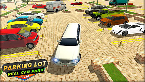 Parking lot: Real car park sim poster