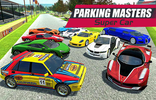 Parking masters: Supercar driver