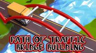 Path of traffic: Bridge building APK