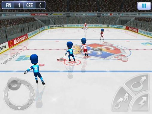 Screenshots von Patrick Kane's arcade hockey für Android-Tablet, Smartphone.