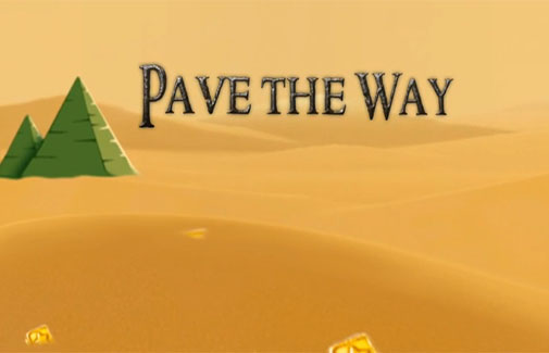 Pave the way poster